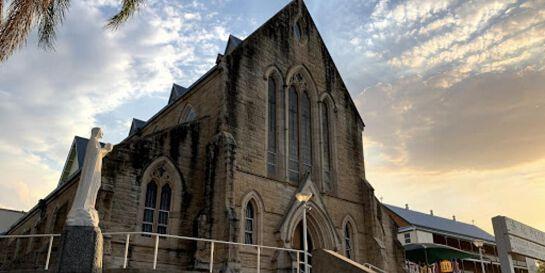 10am Sunday Mass at St Patrick's Church, Gympie.