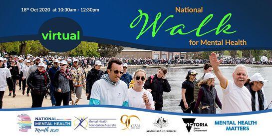 Virtual Walk for Mental Health - Melbourne