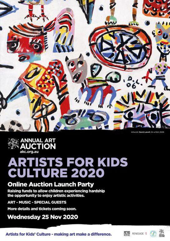 AKC Online Auction & Launch Party