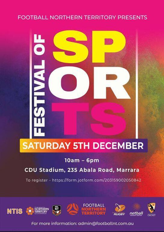 Darwin's Festival of Sport