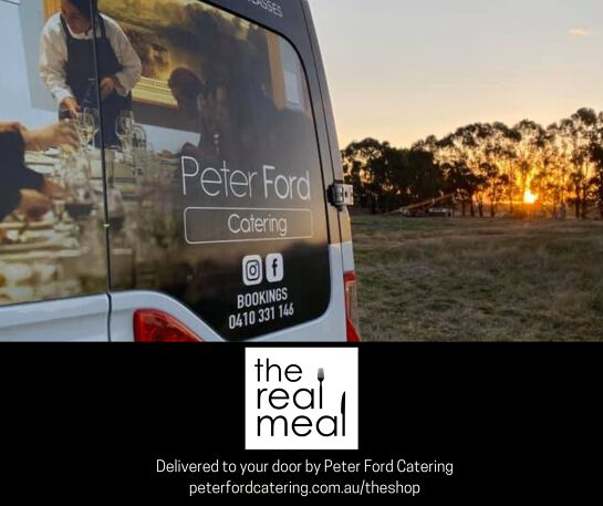 The Real Meal by Peter Ford Catering