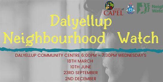 Dalyellup Neighbourhood Watch Meeting