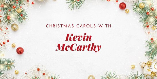 Christmas Carols with Kevin McCarthy