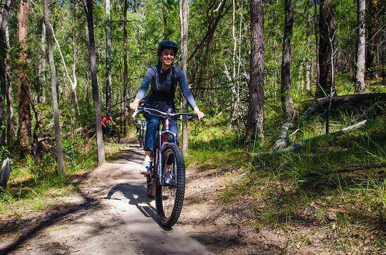 Active & Healthy: 'Come and Try' Mountain Biking 3 Wk Course