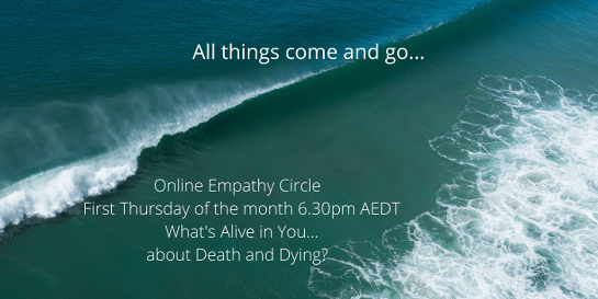 Celebrating This Precious Life 2021 - Monthly Conversations about  Death and Dying - with Wendy