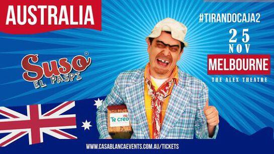 Suso El Paspi Melbourne - Tirando Caja 2