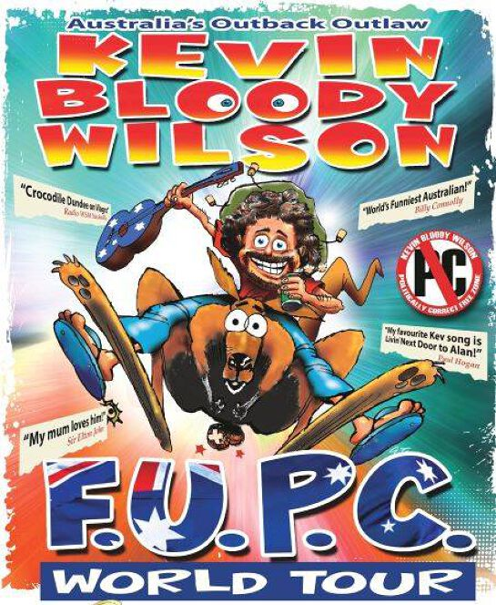 Kevin Bloody Wilson In The FUPC Tour