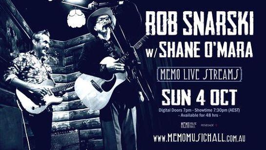 Rob Snarski w Shane O'Mara Live Stream
