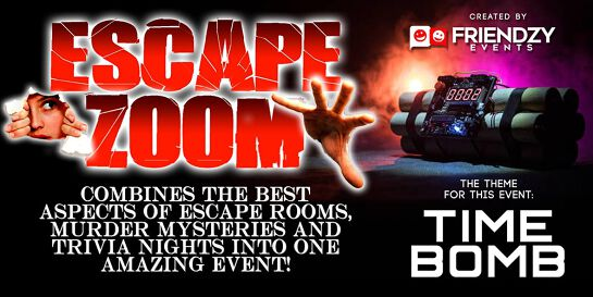 Escape Zoom - An Online Social Escape Room, Murder Mystery & Trivia Event