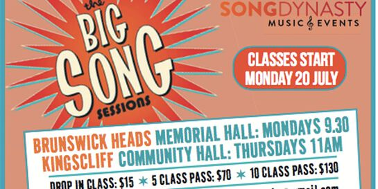 Big Song Membership and Class Fees Term 4