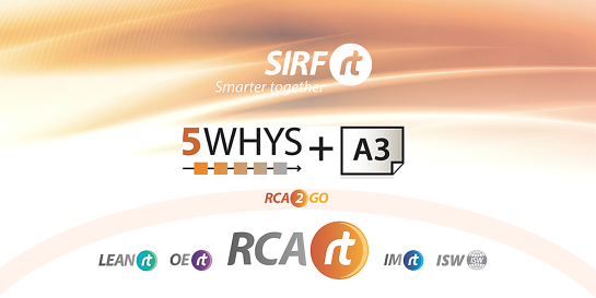 RCARt - 5 Whys & A3 | Root Cause Analysis - 2 x 3.5hr sessions | 5YA3
