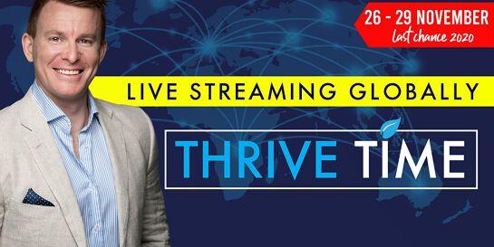 Thrive Time NOVEMBER 2020 - The Mojo Master