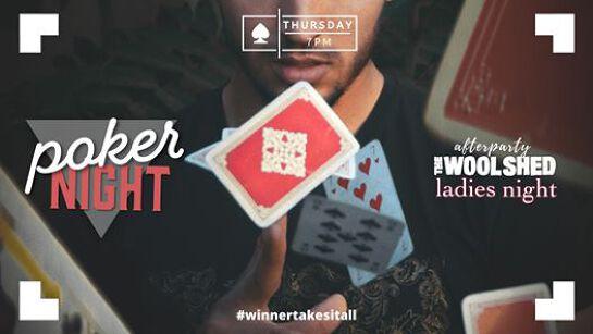 Thursday | Poker Night & Ladies Night