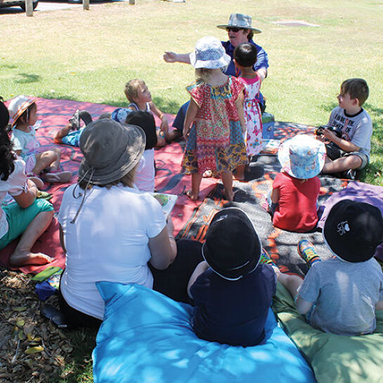 StoryTime in the Park - Benaraby (25 Sept, 30 Oct, 27 Nov)