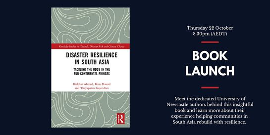 Book Launch - Disaster Resilience in South Asia