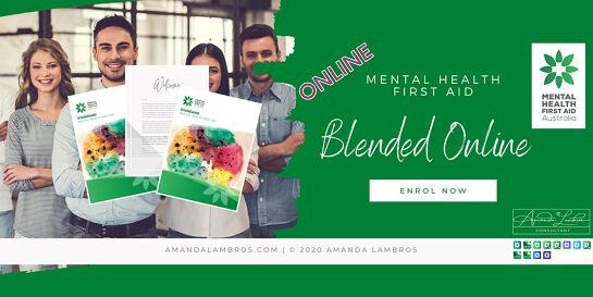 Mental Health First Aid Blended  - Online Training