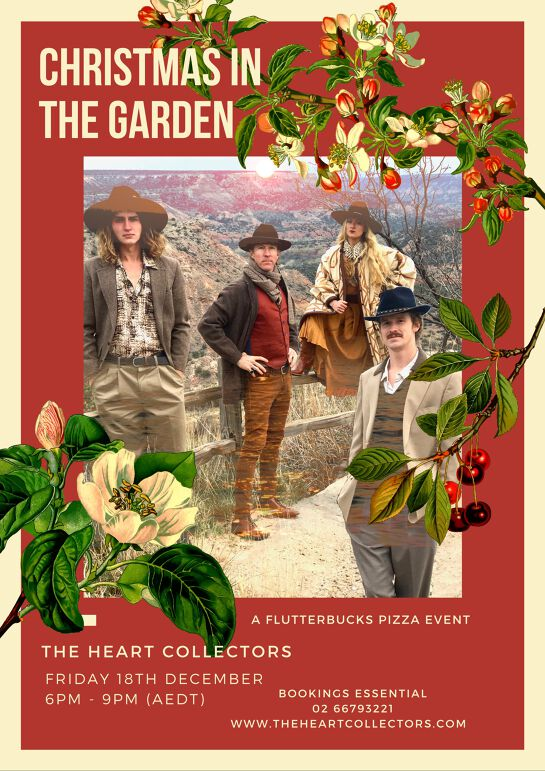 Christmas in the Garden with The Heart Collectors