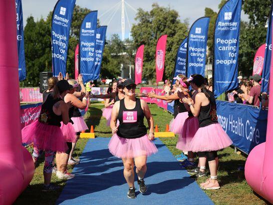 Ramsay Healthcare Triathlon Pink