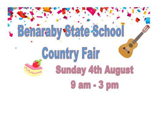 Benaraby State School Country Fair