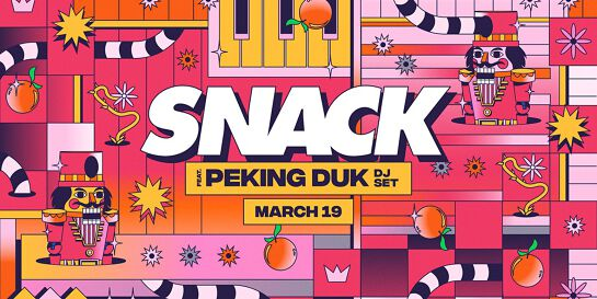SNACK pres. Peking Duk [Perth] | Factory Summer Festival