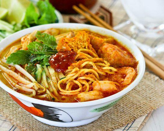 Malaysian Laksa Cooking Class