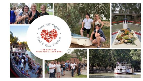 Swan Hill Region Food & Wine Festival Cruise 2021