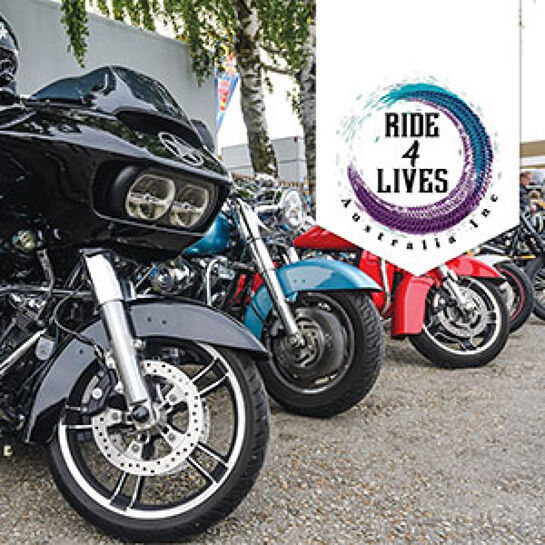 Ride 4 Lives - Suicide Awareness Ride (Sat 27 Feb)