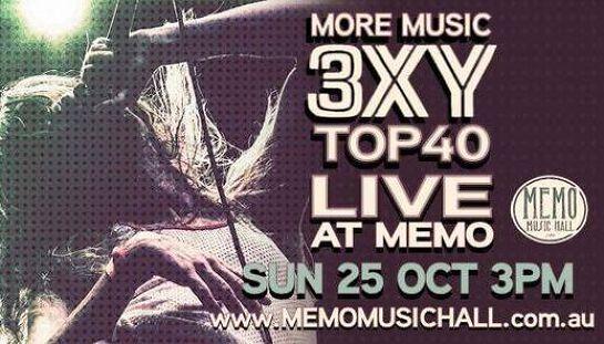 POSTPONED 3XY - Live At MEMO!