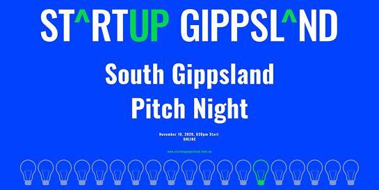 Startup Gippsland - South Gippsland Pitch Night