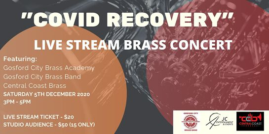Covid Recovery - Brass Band Concert - LIVE STREAM