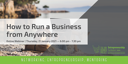 How to Run a Business from Anywhere | Online Webinar [Evening]