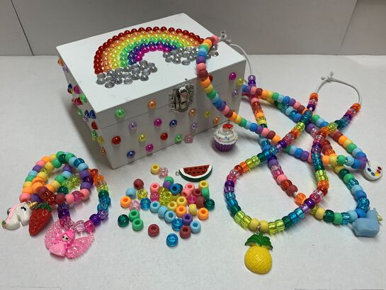 Jewellery Box and Beading Class for Kids