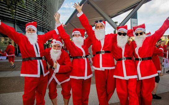 Hot100 Santa Fun Run 2020