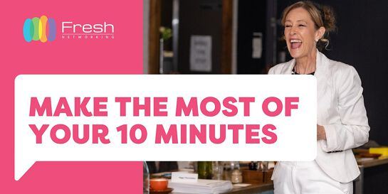 Make the Most of your 10 Minutes with Carol Benton