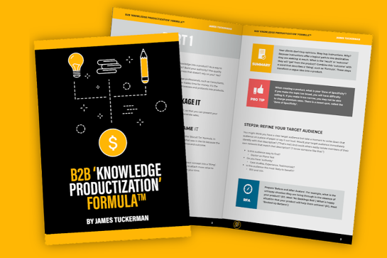 B2B 'Knowledge Productization' Masterclass