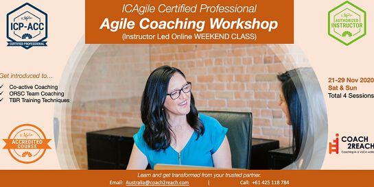 ICAgile Certified Agile Coaching Workshop (ICP-ACC)