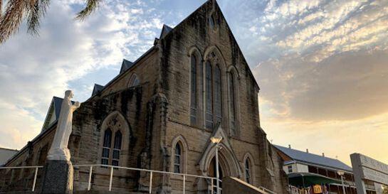 5:30pm Sunday Mass at St Patrick's Church, Gympie