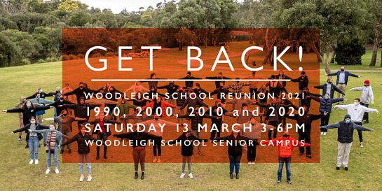 Woodleigh School Reunion 2021 - Classes of 1990, 2000, 2010 & 2020