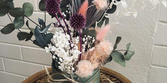 Everlasting Flower Arrangement Workshop