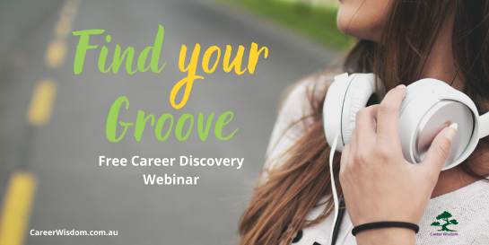 Find Your Groove - Free Career Discovery Webinar