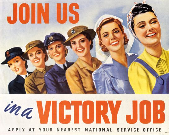 Women Work for Victory in WWII