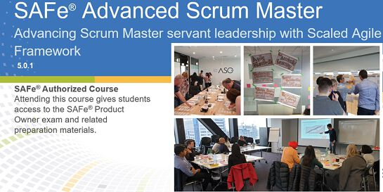 SAFe Advanced Scrum Master 5.0 (Online)