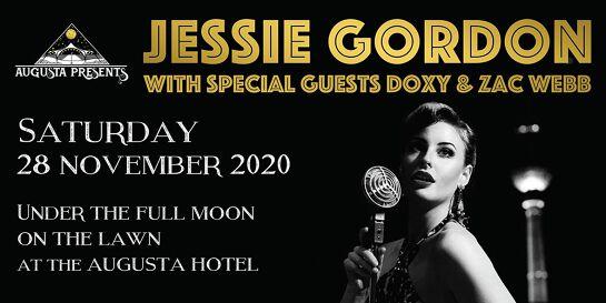 Augusta Presents: Jessie Gordon with Special Guests Doxy and  Zac Webb