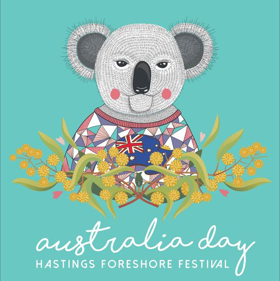 Australia Day Hastings Foreshore Festival