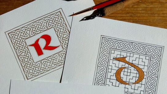 Calligraphy Workshops with Marta Lett