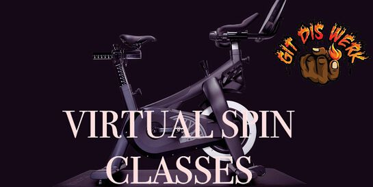 GITDISWERK Virtual Spin Class - Friday Happy Hour