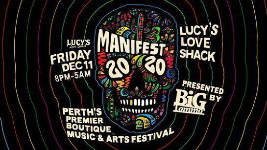 MANIFEST 2020  |  Perth's Premier Boutique Music & Arts Festival  |  ????'? Love Shack