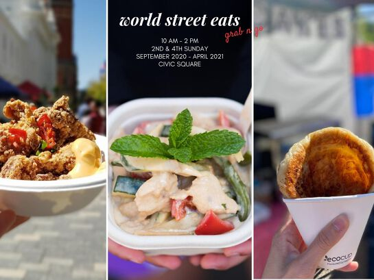 World Street Eats (every 2nd & 4th Sunday)