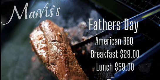 Mavis' kitchen Presents -  Fathers Day American BBQ