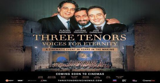 Three Tenors : Voices For Eternity